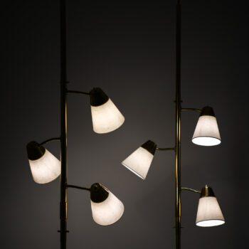 Herbert Ode lamps in brass from 1965 at Studio Schalling