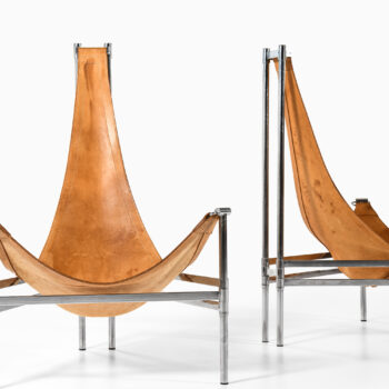 Christina & Lars Andersson Yacht easy chairs at Studio Schalling