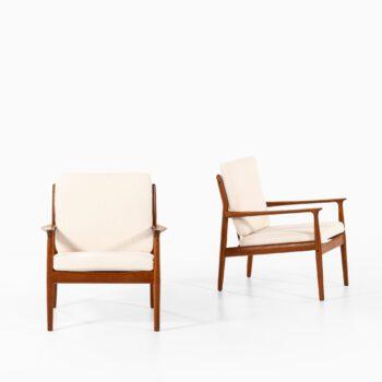 Svend Aage Eriksen easy chairs model GM 5 at Studio Schalling