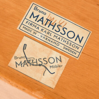 Bruno Mathsson book crib T-704 at Studio Schalling