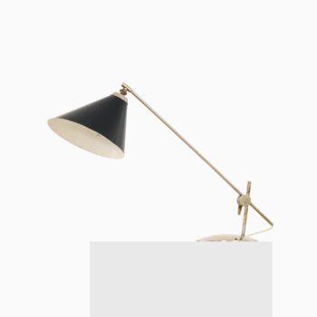 Poul Dinesen table lamp in nickel at Studio Schalling