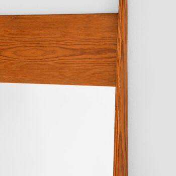 Large mirror in pine at Studio Schalling