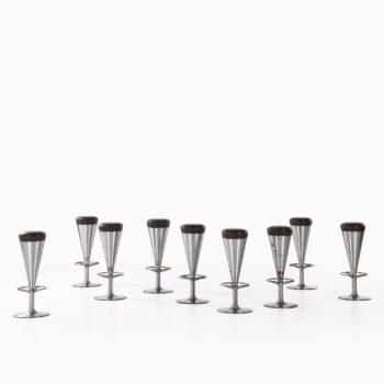 Leo Thafvelin stools by Johanson design at Studio Schalling
