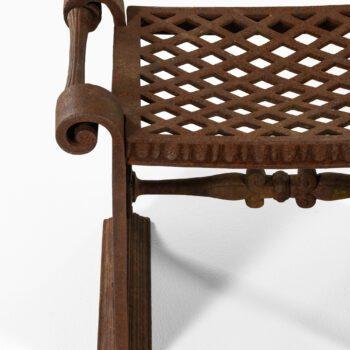 Folke Bensow stool model Taburett nr 1 at Studio Schalling