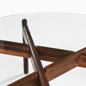 Illum Wikkelsø coffee table in rosewood at Studio Schalling