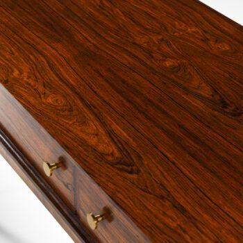Poul Nørreklit side table in rosewood at Studio Schalling