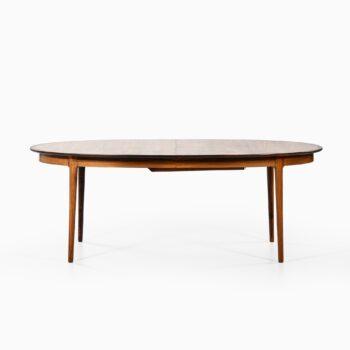 Torbjørn Afdal dining table in rosewood at Studio Schalling
