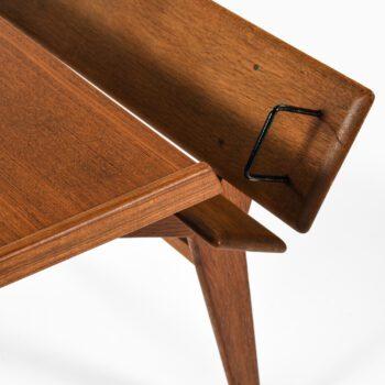 Desk in teak and oak by unknown designer at Studio Schalling