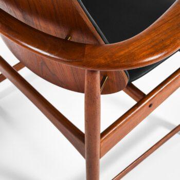 Arne Hovmand-Olsen armchairs in teak at Studio Schalling