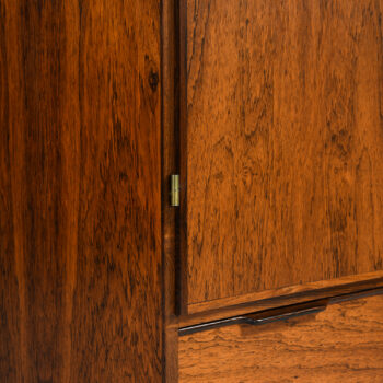 Rosewood cabinet produced in Denmark at Studio Schalling