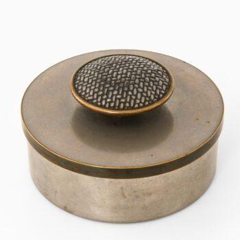 Estrid Ericsson pewter jar from 1956 at Studio Schalling