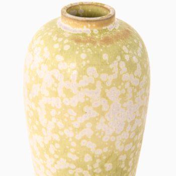 Gunnar Nylund ceramic vase model AUF at Studio Schalling