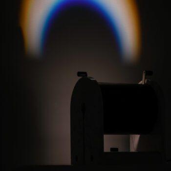 Andrea Bellosi table lamp Arc en ciel at Studio Schalling