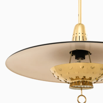 Ceiling lamp in brass by Boréns at Studio Schalling