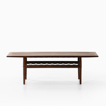 Grete Jalk coffee table in rosewood at Studio Schalling