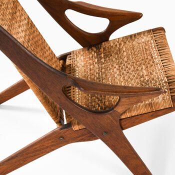 Arne Hovmand-Olsen easy chair in teak at Studio Schalling