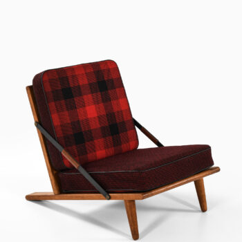 Børge Mogensen low and early easy chair at Studio Schalling