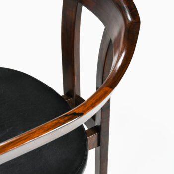 Hans Olsen armchairs in rosewood at Studio Schalling