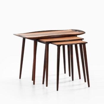 Jens Harald Quistgaard nesting tables at Studio Schalling