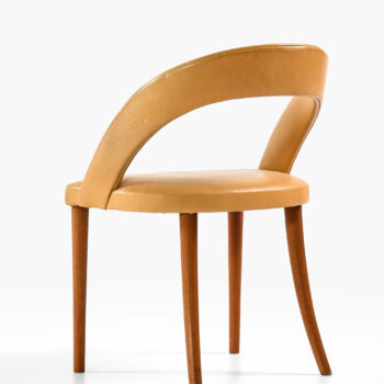Frode Holm vanity / side chair in mahogany at Studio Schalling