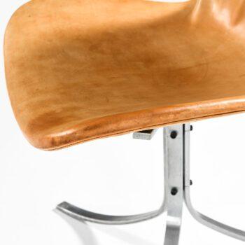 Poul Kjærholm PK-9 dining chairs at Studio Schalling
